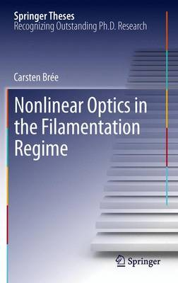 Nonlinear Optics in the Filamentation Regime - Springer Theses (Paperback)