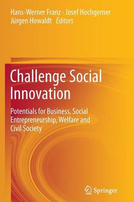 Challenge Social Innovation: Potentials for Business, Social Entrepreneurship, Welfare and Civil Society (Paperback)