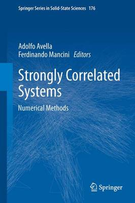 Strongly Correlated Systems: Numerical Methods - Springer Series in Solid-State Sciences 176 (Paperback)
