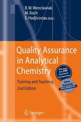 Quality Assurance in Analytical Chemistry: Training and Teaching (Paperback)