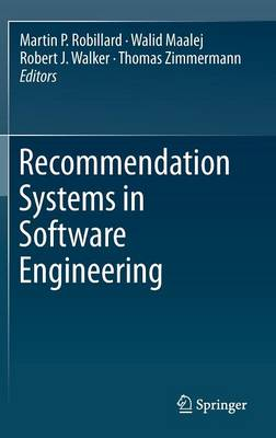 Recommendation Systems in Software Engineering (Hardback)