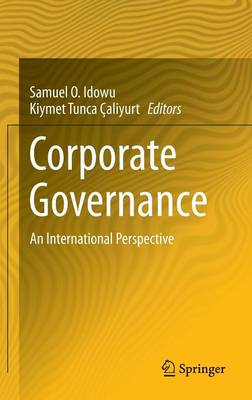 Corporate Governance: An International Perspective (Hardback)