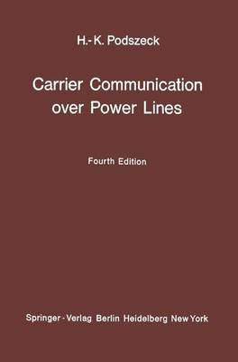 Carrier Communication over Power Lines (Paperback)