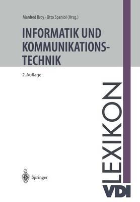 VDI-Lexikon Informatik Und Kommunikationstechnik - VDI-Buch (Paperback)