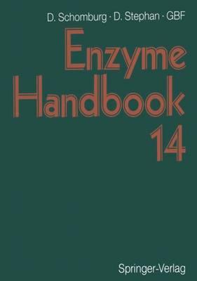 Enzyme Handbook 14: Class 2.7-2.8 Transferases, EC 2.7.1.105-EC 2.8.3.14 (Paperback)