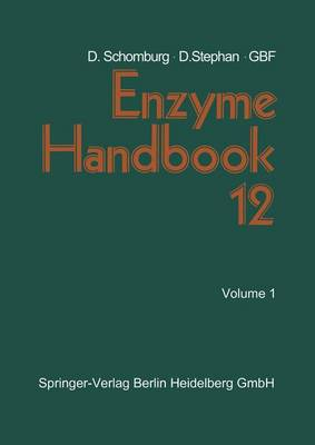 Enzyme Handbook 12: Class 2.3.2 - 2.4 Transferases (Paperback)