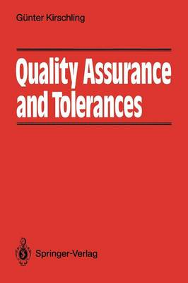 Quality Assurance and Tolerance (Paperback)