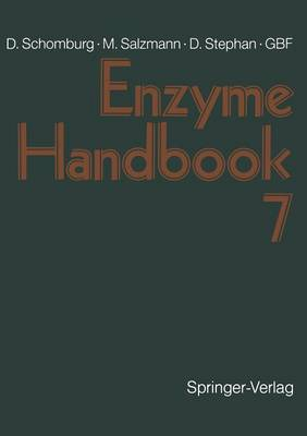 Enzyme Handbook 7: Class 1.5-1.12: Oxidoreductases (Paperback)