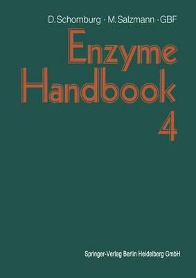 Enzyme Handbook 4: Class 3: Hydrolases (Paperback)