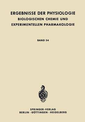 Die Nerv�se Steuerung Der Atmung - Ergebnisse Der Physiologie, Biologischen Chemie Und Experime 54 (Paperback)