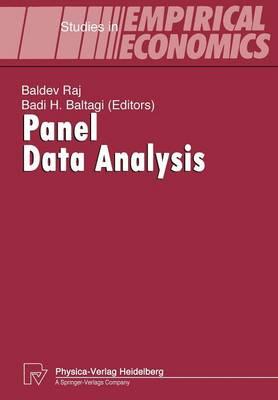 Panel Data Analysis - Studies in Empirical Economics (Paperback)