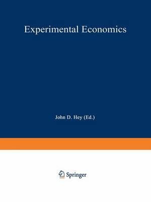 Experimental Economics - Studies in Empirical Economics (Paperback)