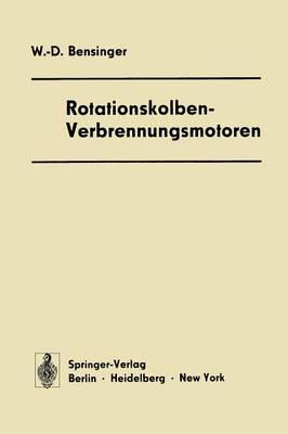 Rotationskolben -- Verbrennungsmotoren (Paperback)