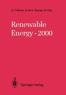 Renewable Energy-2000 (Paperback)