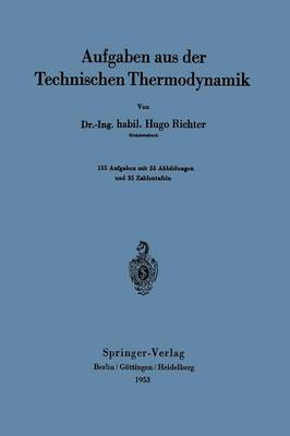 Aufgaben Aus Der Technischen Thermodynamik (Paperback)