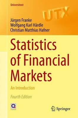 Statistics of Financial Markets: An Introduction - Universitext (Paperback)