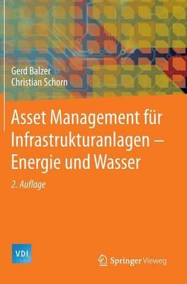 Asset Management Fur Infrastrukturanlagen - Energie Und Wasser - VDI-Buch (Hardback)