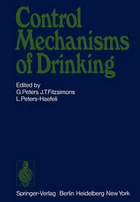 Control Mechanisms of Drinking (Paperback)