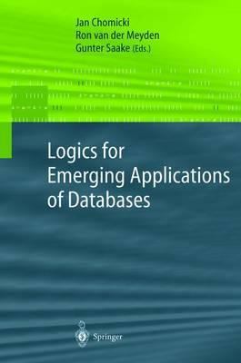 Logics for Emerging Applications of Databases (Paperback)