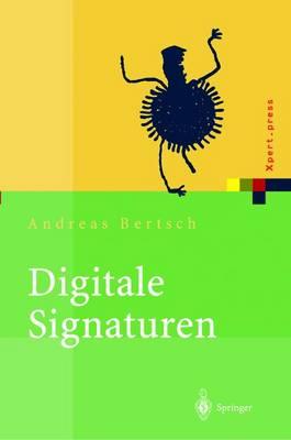 Digitale Signaturen - Xpert.Press (Paperback)