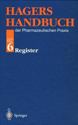 Hagers Handbuch Der Pharmazeutischen Praxis (Paperback)