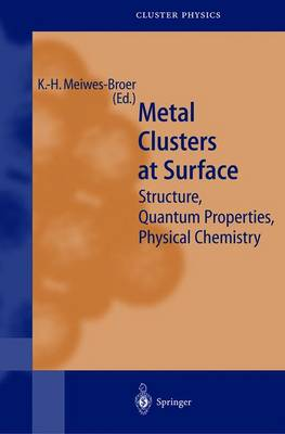 Metal Clusters at Surfaces: Structure, Quantum Properties, Physical Chemistry - Springer Series in Cluster Physics (Paperback)