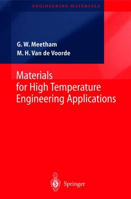 Materials for High Temperature Engineering Applications - Engineering Materials (Paperback)
