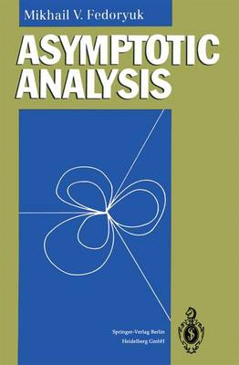 Asymptotic Analysis: Linear Ordinary Differential Equations (Paperback)