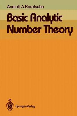 Basic Analytic Number Theory (Paperback)