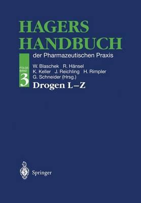 Hagers Handbuch Der Pharmazeutischen Praxis: Der Pharmazeutischen Praxis (Paperback)