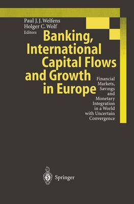 Banking, International Capital Flows and Growth in Europe: Financial Markets, Savings and Monetary Integration in a World with Uncertain Convergence (Paperback)