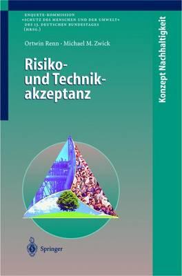 Risiko- Und Technikakzeptanz - Konzept Nachhaltigkeit (Paperback)
