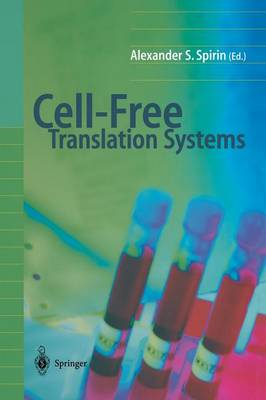 Cell-Free Translation Systems (Paperback)