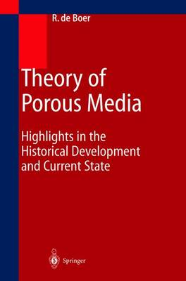 Theory of Porous Media: Highlights in Historical Development and Current State (Paperback)
