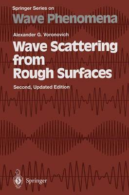 Wave Scattering from Rough Surfaces - Springer Series on Wave Phenomena 17 (Paperback)