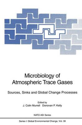 Microbiology of Atmospheric Trace Gases: Sources, Sinks and Global Change Processes - Nato ASI Subseries I: 39 (Paperback)