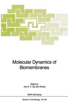 Molecular Dynamics of Biomembranes - Nato ASI Subseries H: 96 (Paperback)