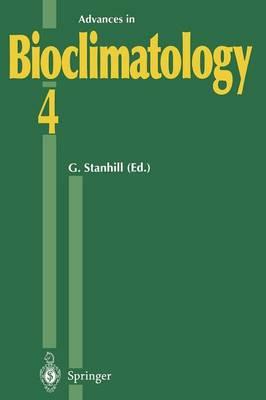 Advances in Bioclimatology_4 - Advances in Bioclimatology 4 (Paperback)