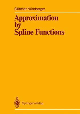 Approximation by Spline Functions (Paperback)