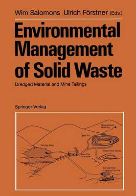 Environmental Management of Solid Waste: Dredged Material and Mine Tailings (Paperback)