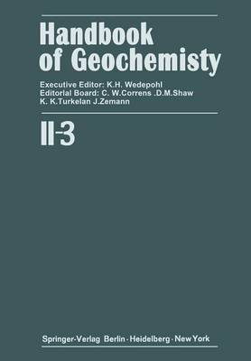 Elements Cr (24) to Br (35) - Handbook of Geochemistry 2 / 3 (Paperback)