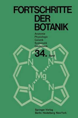 Fortschritte Der Botanik - Progress in Botany 34 (Paperback)