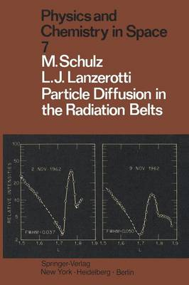Particle Diffusion in the Radiation Belts - Physics and Chemistry in Space 7 (Paperback)
