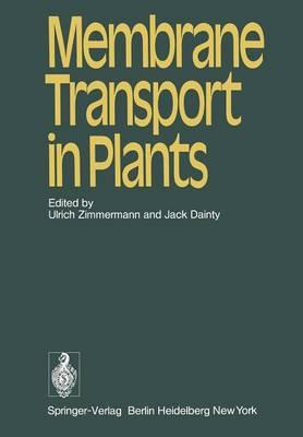Membrane Transport in Plants (Paperback)