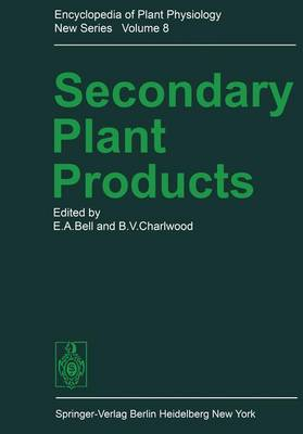 Secondary Plant Products - Encyclopedia of Plant Physiology 8 (Paperback)