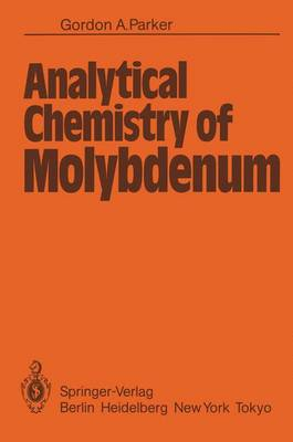 Analytical Chemistry of Molybdenum (Paperback)