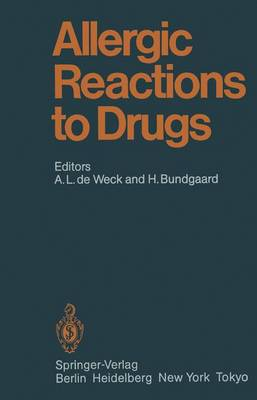 Allergic Reactions to Drugs - Handbook of Experimental Pharmacology 63 (Paperback)