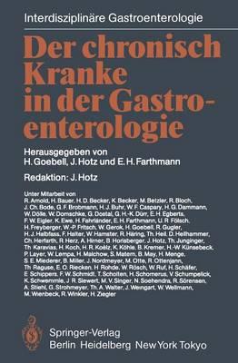 Der Chronisch Kranke in Der Gastroenterologie - Interdisziplinare Gastroenterologie (Paperback)