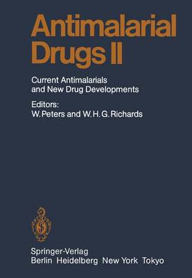 Antimalarial Drug II: Current Antimalarial and New Drug Developments - Handbook of Experimental Pharmacology 68 / 2 (Paperback)
