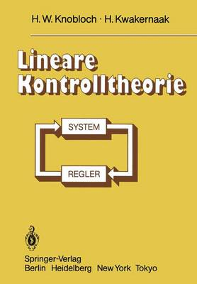 Lineare Kontrolltheorie (Paperback)